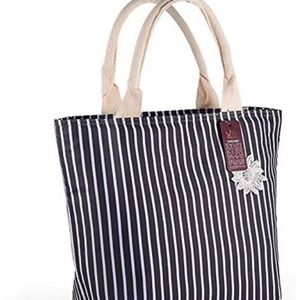 Handbags - Brand New Insulated Lunch Bag Black and Grey
